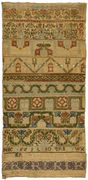 17th c. english sampler