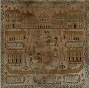 19th c. english sampler