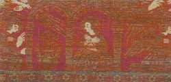 Orphrey panel with an Annonciation of the V