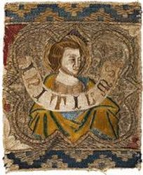 Italy, Florence, Fragment from an Orphrey. 13