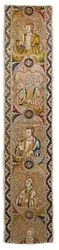 Italy, Florence, Band from an Orphrey, 1360s