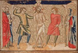 The Flagellation, Panel, Altar Frontal