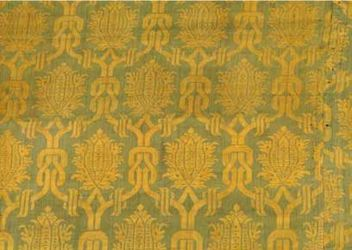 Green and Yellow Damask, Italy, 16th C.