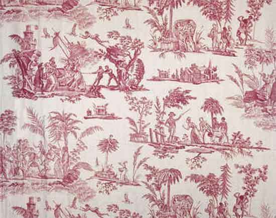 Toile Jouy paul and virginie