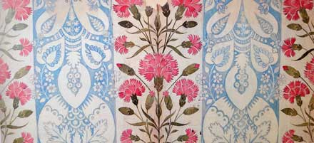 james Leman fabric design