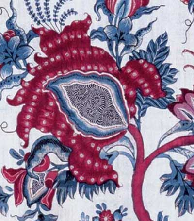 Chintz motif India 18th c.