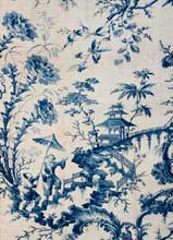 Bromley Hall printed toile, England 18th c.