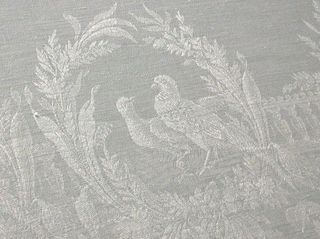Birds damask design 19th c.