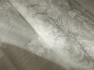 Sophisticated linen damask