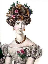 Hat fashion France 1826