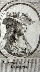 Saint Domingue Hat 1786