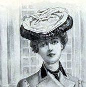 Hats in New york 1901 -2