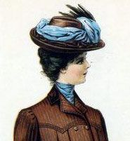 Hats in New york 1901-4