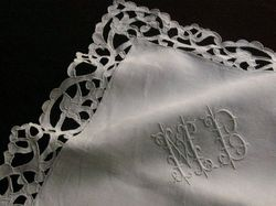 luxury linen and lace pillowcases