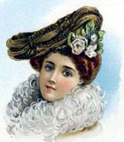 Newy york hats fashion in 1900