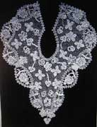 irish bobbin lace 19th c.