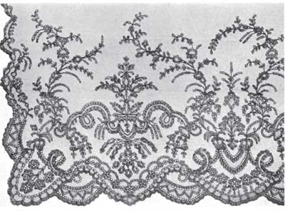 Chantilly Veil 19th century