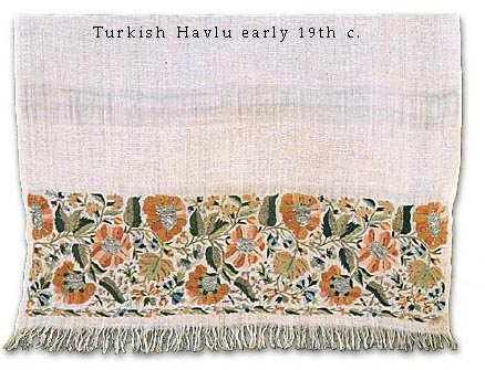 Turkish Havlu 19th c.