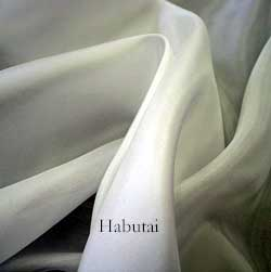 Chinese habutai fabric