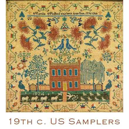 19th c. us samplers