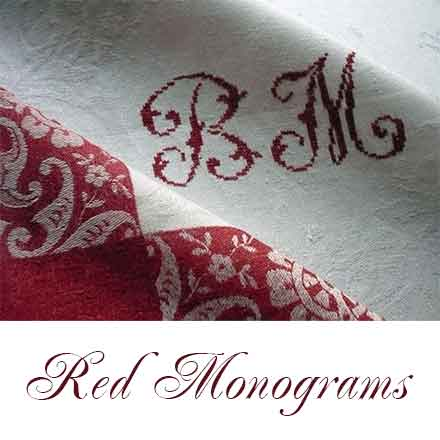 Red Monograms