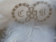 embroidered monogram cb