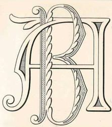 Double monogram design