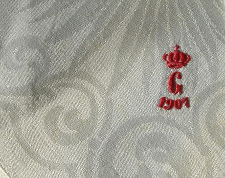 crown monogram eraly 20th c.