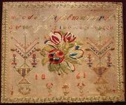 French Sampler 1861