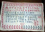 French sampler 1888
