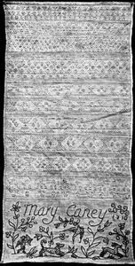 Mary Caney Sampler 1710