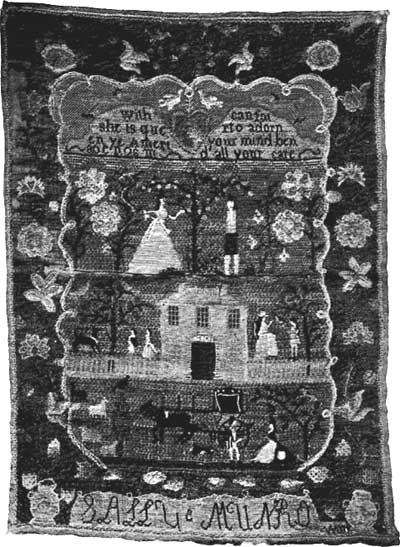 Sally Munro Sampler 1790