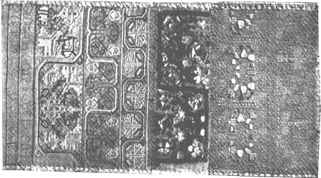 Sarah Lord Sampler New England 1668
